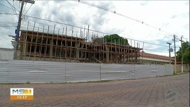 Obras no Pronto Socorro de Corumbá - Prefeitura da novo prazo para a entrega da obra que é aguardada pelos moradores