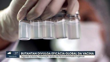 SP1 - Edição de terça-feira, 12/01/2021 - Instituto Butantan divulga hoje eficácia global da vacina. Governo de São paulo mantém prazo para vacinação. Fechamento da Ford no Brasil. As mudanças no Enem provocadas por causa da pandemia. ABC adia retorno as aulas presenciais.