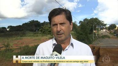 Morre Maguito Vilela, prefeito licenciado de Goiânia - Político lutava contra uma infecção de bactérias e fungos nos pulmões após se recuperar da Covid-19. Ele estava há mais de 80 dias em UTI do Hospital Albert Einstein, em São Paulo.