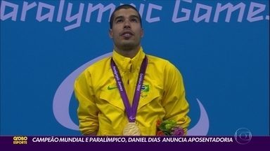Campeão Mundial e Paralímpico, Daniel Dias anuncia aposentadoria para depois de Tóquio - Campeão Mundial e Paralímpico, Daniel Dias anuncia aposentadoria para depois de Tóquio