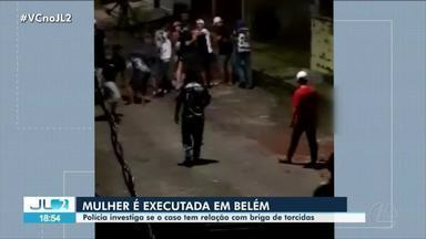 Polícia investiga morte de integrante de torcida organizada em Belém - Polícia investiga morte de integrante de torcida organizada em Belém