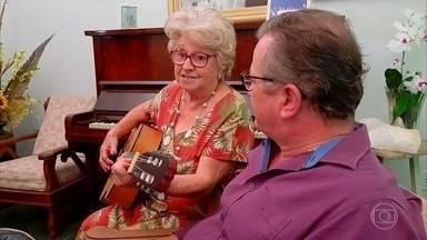 Conheça Catarina Neves - De Campinas, em São Paulo, ela tem 81 anos