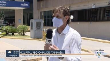 Itanhaém e Mongaguá estão com capacidade hospitalar acima de 80% - Em Itanhaém, o Hospital Regional, referência em Covi-19 para algumas cidades da Baixada Santista, está com 90% de ocupação nos leitos de UTI.