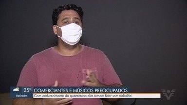 Governo do Estado anuncia nova classificação do Plano São Paulo - Expectativa é que regras fiquem ainda mais duras com possibilidade de fase vermelha de segunda a sexta, e também aos fins de semana. Medida preocupa comerciantes.