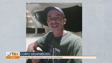 Polícia tenta encontrar corpo de marinheiro que desapareceu do IML de Praia Grande - Exumações realizadas em duas cidades descartaram a possibilidade de ser o corpo do rapaz.