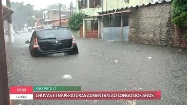 Bliz do Tempo: São Paulo registra aumento de temperatura e chuvas ao longo dos anos - Veja como vai ficar o tempo nos próximos dias