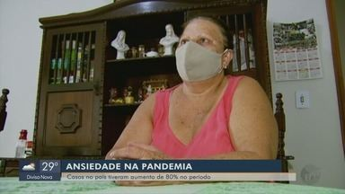 Ansiedade na pandemia: casos no país tiveram aumento de 80% no período - Ansiedade na pandemia: casos no país tiveram aumento de 80% no período