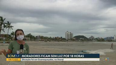Moradores de Guaraqueçaba ficam sem luz por 18 horas - O caso foi registrado na quinta-feira, 28 de janeiro.