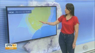 Confira a previsão do tempo para o fim de semana na região - Confira a previsão do tempo para o fim de semana na região