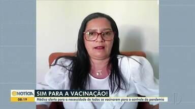 Em Coronel Fabriciano, 34 idosos se recusam a serem imunizados contra a Covid-19 - Especialista alerta para a necessidade de todos se imunizarem contra o novo coronavírus.