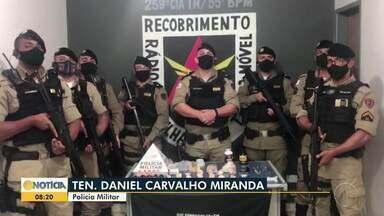Dois homens são presos por tráfico de drogas em Várzea da Palma - Polícia apreendeu cocaína e maconha.
