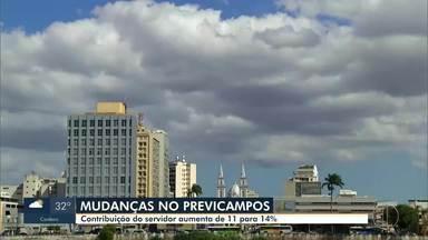 Contribuição do servidor de Campos aumenta de 11% para 14% - Sessão extraordinária na Câmara de Vereadores decidiu aumento na contribuição dos servidores do município.