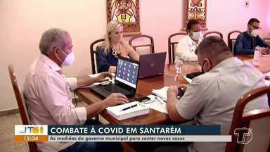 Comitê de Gestão de Crise reúne para traçar medidas em Santarém - Reunião será importante para definir novas ações em razão da pandemia.