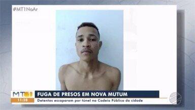 Fugitivos de cadeia pública de Nova Mutum estão sendo procurados - Fugitivos de cadeia pública de Nova Mutum estão sendo procurados.