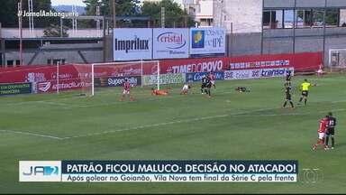 Vila Nova renova contrato com mais cinco jogadores - Alan Mineiro, Henan, Saimon, Darlei e Celsinho continuam até o final de 2021.