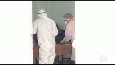 Piora situação do Hospital Geral de Roraima, mesmo depois da ampliação de leitos da unidade - Técnico de enfermagem que trabalha na linha de frente da unidade afirma que número de mortes aumentou nos últimos dias.