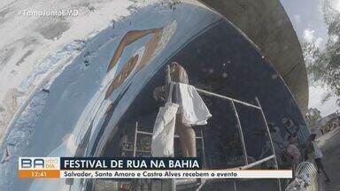 Festival de Street Arte da Bahia é realizado neste fim de semana em cidades baianas - Atividades são realizadas em Salvador, Castro Alves e Santo Amaro.