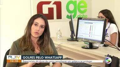 Golpes praticados pelo WhatsApp têm aumento no Brasil - Em 2020, segundo uma empresa especializada em segurança digital, mais de 5 milhões de pessoas foram vítimas desse tipo de crime no país.