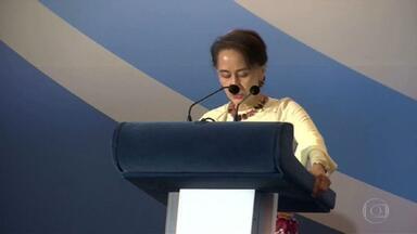 Golpe de estado em Mianmar leva à detenção de líder política e de deputados - Vencedores das eleições de novembro iriam formar novo governo. Militares afirmam que eleições foram fraudadas.