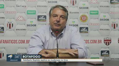 Adalberto Baptista fala sobre as mudanças no Botafogo-SP - Pantera estreia no Paulistão dia 28 de fevereiro contra o São Paulo.