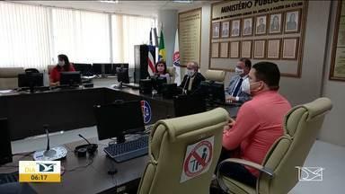 Ministério Público quer plano para eventual explosão da Covid-19 no Maranhão - Ministério Público Estadual quer saber como o estado e os municípios estão se preparando para uma eventual explosão de casos de Covid-19 e cobra um plano de prevenção diante das ameaças das novas variantes do coronavirus.