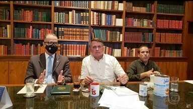 Ministério da Saúde se reúne com representantes das vacinas Sputnik V e Covaxin - O Brasil negocia a compra de 30 milhões de doses de vacinas contra Covid-19 depois que a Anvisa simplificou as regras para o uso emergencial.
