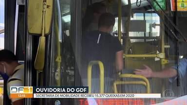 Ouvidoria do GDF recebeu 15.377 queixas contra a Secretaria de Mobilidade em 2020 - Entre as principais reclamações estão a superlotação dos ônibus e o não cumprimento dos horários.