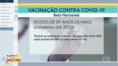 Prefeitura anuncia novo grupo para vacinação contra a Covid-19 a partir de segunda (8) - Profissionais de outras áreas da saúde, como clínicas de imagens e oncológicas, passarão a receber as doses. Na segunda também será iniciado o cadastro para vacinação de idosos a partir de 89 anos.