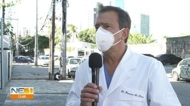 Otorrinolaringologistas pedem priorização na vacinação contra Covid-19 - Eles têm medo de se contaminar porque boca e nariz são principais meios de contaminação.