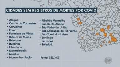Veja as 21 cidades do Sul de Minas que não registraram óbitos por Covid-19 - Veja as 21 cidades do Sul de Minas que não registraram óbitos por Covid-19