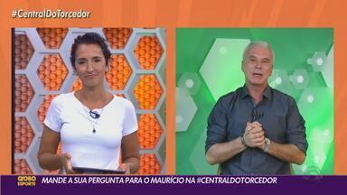 Maurício Saraiva responde a primeira participação do público na Central do Torcedor - Assista ao vídeo.