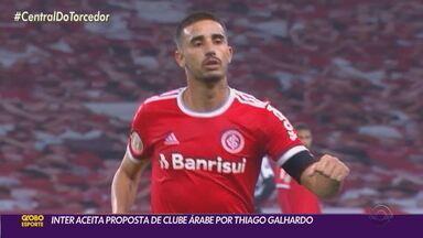 Inter aceita proposta de clube árabe por Thiago Galhardo - Meia-atacante já assinou contrato com Al-Hilal e não atua mais pelo Colorado na reta final do Brasileirão.