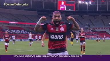 Inter garante foco em faz sua parte na briga com o Flamengo pelo Brasileirão - Fla jogará antes do Colorado na 35ª rodada.