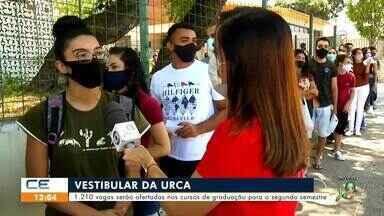 Vestibular da URCA oferece 1.210 vagas na graduação - Saiba mais em: g1.com.br/ce