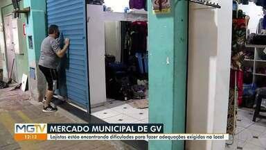 Lojistas encontram dificuldades para fazer adequações exigidas no Mercado Municipal - Justiça concedeu mais dois meses de prazo.