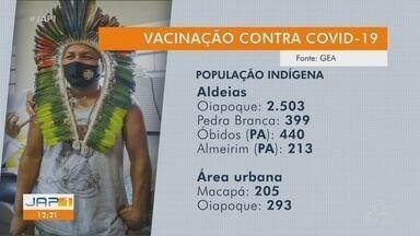 Vacinação contra a Covid-19 já vacinou mais de 4 mil indígenas no Amapá e Norte do Pará - Vacinação contra a Covid-19 já vacinou mais de 4 mil indígenas no Amapá e Norte do Pará