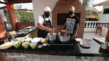 Sabores Daqui - Blend de frango - No Sabores Daqui, o culinarista Rodrigo Nunes ensina a preparar um blend de frango de forma simples e acessível.