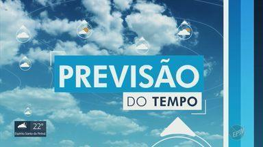 Previsão do tempo indica sol forte nas regiões de Campinas e Piracicaba - Neste domingo (7), também há chances de pancadas isoladas nas cidades da região.