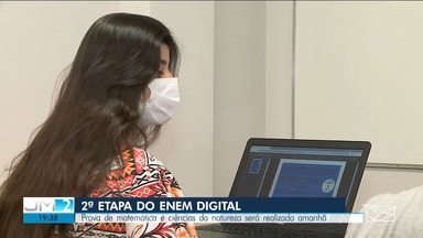 1440 candidatos se preparam para a 2ª etapa do ENEM digital no Maranhão - Provas são feitas no computador e sem acesso à internet.