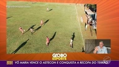 Vó Maria derrota Astecon e conquista título da Recopa do Terrão 2021 - Atual campeão da liga derrotou o penúltimo vencedor da competição por 2 a 1 e ficou com o troféu.