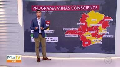 Minas tem mais de 6.500 novos casos da Covid-19 em 24h; 172 registros de mortes - Estado se aproxima de 800 mil casos da doença.