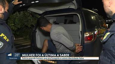Polícia Rodoviária Federal prende foragido com documento falso, em Betim - Nem a mulher sabia a verdadeira identidade do companheiro
