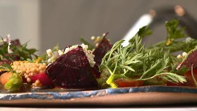 Caminhos do Campo (bloco 3) - Programa mostra criações pouco convencionais. Na receita da semana confira a preparação de uma salada com mini legumes.