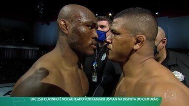 UFC 258: Durinho é nocauteado por Kamaru Usman na disputa do cinturão - UFC 258: Durinho é nocauteado por Kamaru Usman na disputa do cinturão