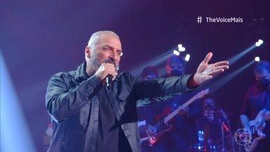 Mário Figueiredo canta 'Pense e Dance' - Ludmilla se anima com a apresentação