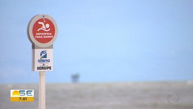 Banhistas continuam frequentando praias interditadas - Banhistas continuam frequentando praias interditadas.