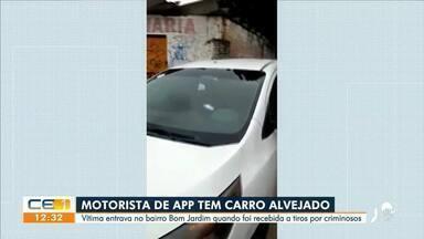 Motorista de aplicativo é vítima de tiroteio no Bom Jardim - Saiba mais em g1.com.br/ce