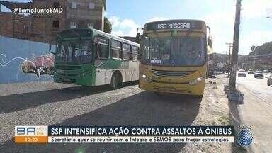 Após constantes assaltos, SSP intensifica ação contra o crime em ônibus de Salvador - Confira o que diz a autoridade.