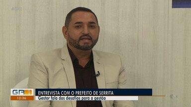 Prefeito de Serrita fala sobre planos e desafios da gestão - Aleudo Benedito também comenta sobre os casos de Covid-19 e plano de imunização.