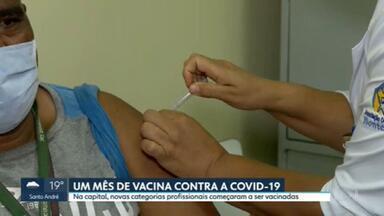SP2 - Edição de quarta-feira, 17/02/2021 - Balanço de um mês de vacinas contra a Covid-19. Cidades da Grande São Paulo interrompem vacinação. Polícia identifica dono das armas que adolescente usou para atirar acidentalmente em um menino de 9 anos.